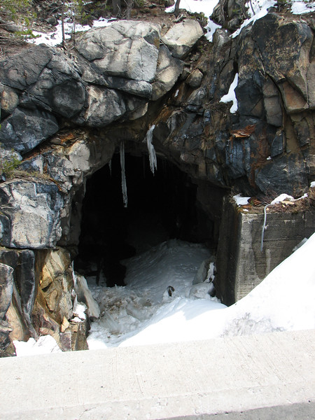Summit Tunnel in Winter