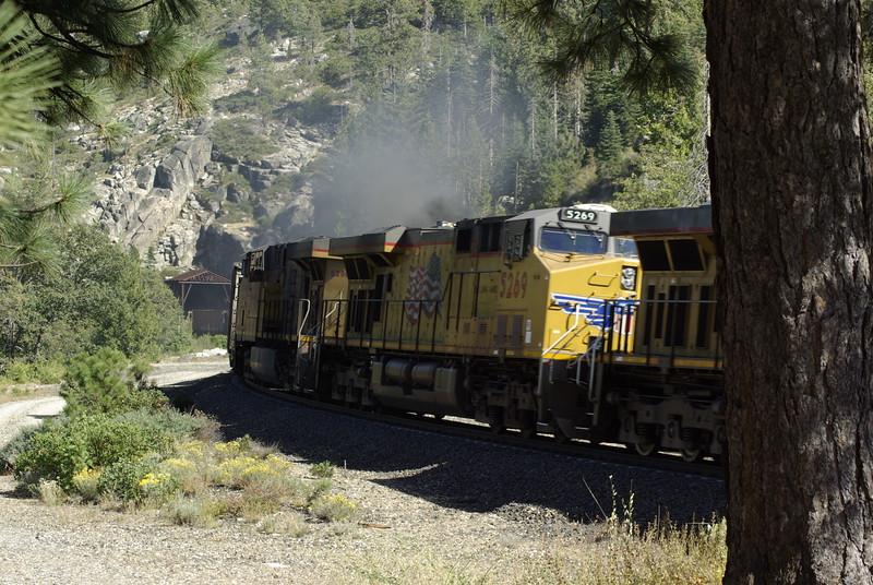 Smoky Train, Yuba Pass