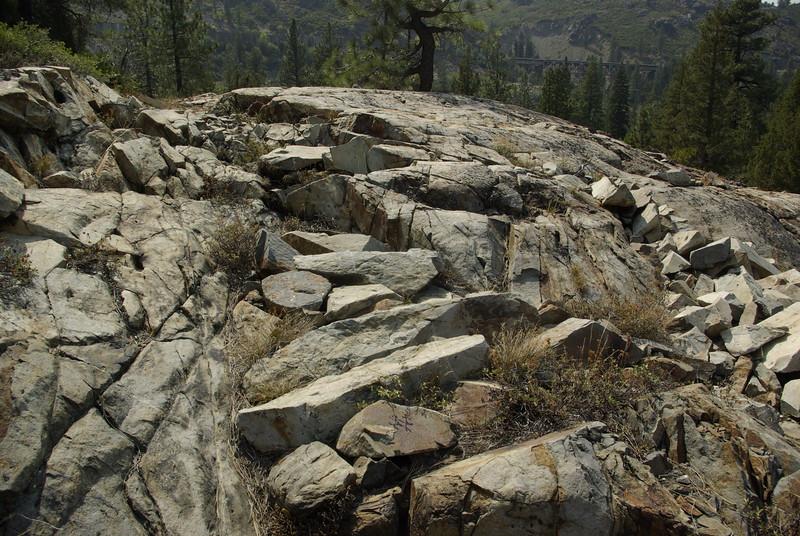 Emigrant Trail Rock Fill, Near Cisco, CA