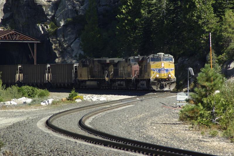 Train at Yuba Pass