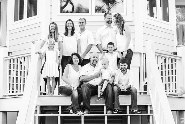 Donnie Waldrep Family Beach Photos