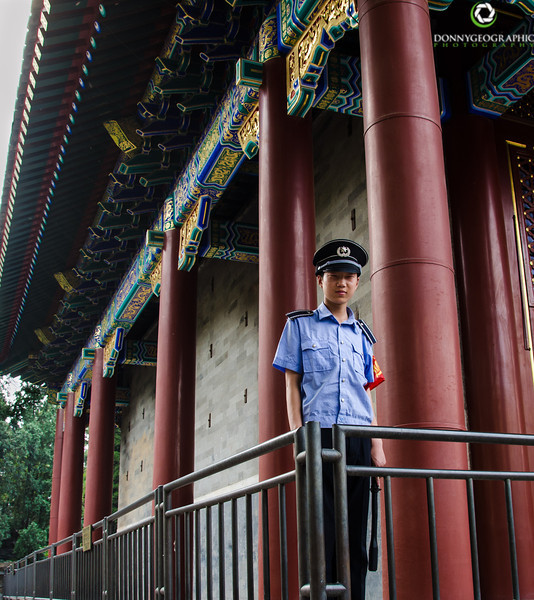 Standing Guard at The Summer Palace