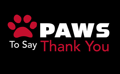 Paws to Say Thank You