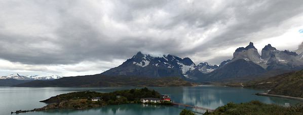 Lago Pehoe, Torres del Paine National Park, Patagonia