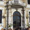 Detail from one of the hotels in Opatija.