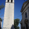 A belltower in Pula.