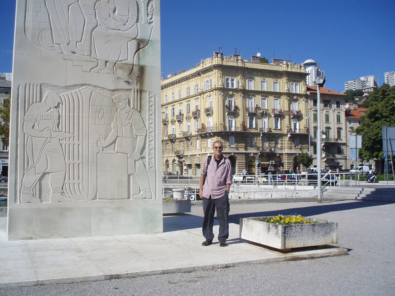 """We took the bus from Zadar to Rijeka (""""Ri-yek-ah""""), the major port city on the northern Croation coast, but decided to take a city bus to nearby Opatija and stay there.  The next day we came back to Rijeka and toured the downtown area."""