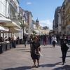 A main pedestrian area in Rijeka.