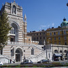 A church opposite the bus station, in Rijeka