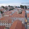 Zadar, midway up the Croatian coast, sticks out in a peninsula, with narrow pedestrian streets