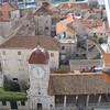 The town of Trogir is about an hour by bus from Split - I went up in the obligatory belltower and took a picture of the town square