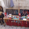 Shopkeepers and jewelry stands are located throughout the old city