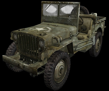 Willys 5F Jeep
