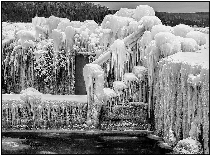 Ice at Weborg Dock