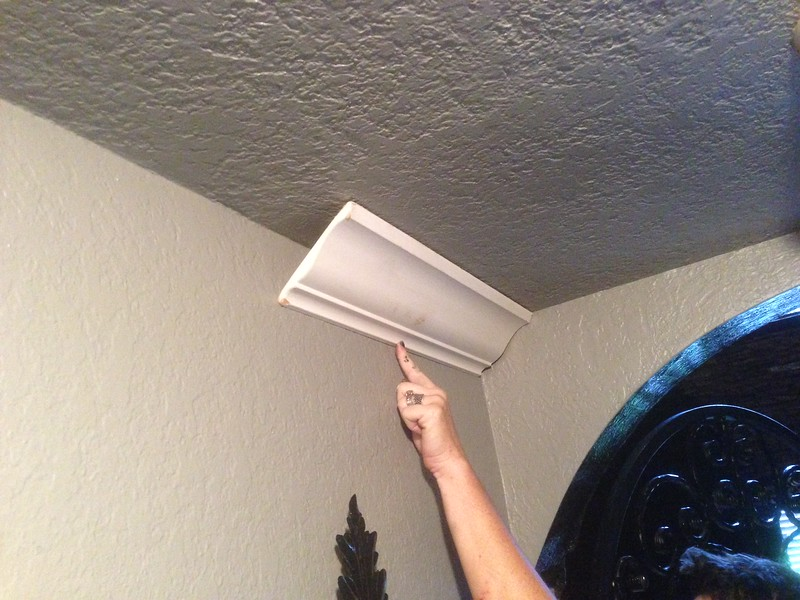 "TYPICAL 5 1/4"" LDF CROWN MOLDING"