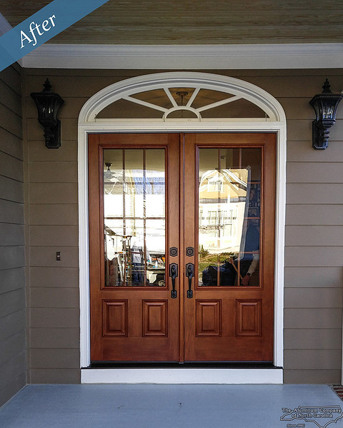Entry Door with Transom