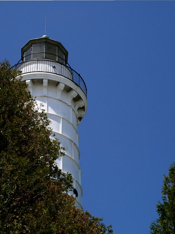 <i><h2>Cana Island Lighthouse</i></h2><h4>Baily's Harbor, WI</h4>