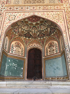 Archway, Red Fort, Jaipur, India