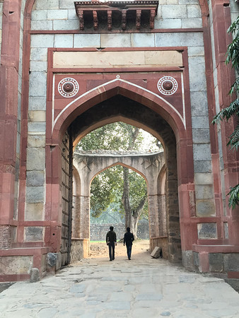 Arab-Ki-Sarai Gate, Humayun's Tomb, New Delhi, India