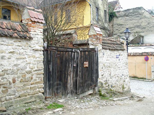 Gate, Sigisoara, Romania