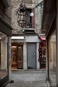 Chandelier in Alley