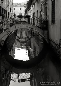 Footbridge & Reflection