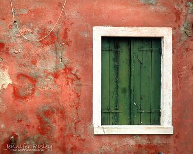 Green Shutters, Pink Wall