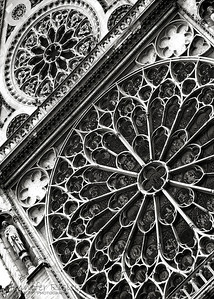 Notre Dame Cathedral Window