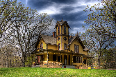 The historic Burwell House 1894