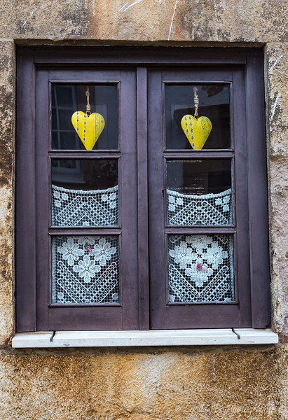 Hearts in a Window