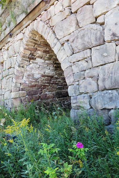 Bay Furnace ruins near Munising, Michigan
