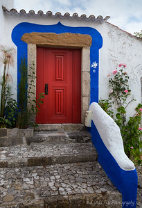 Red, White & Blue Door