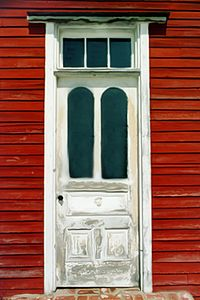 Dell's Schoolhouse Door