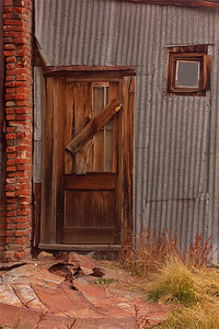 No Entrance Bodie Ghost Town CA