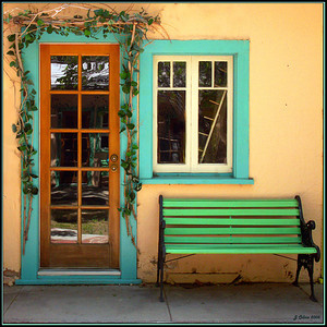 Gallery Doorway Lone Pine CA