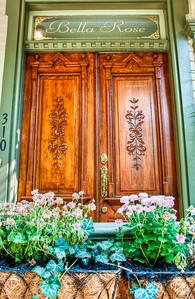 wooden-doors-flowers