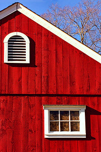 Sherman CT.Barn Window