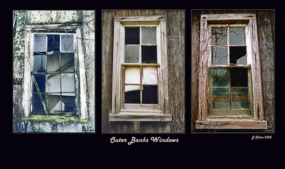 3 Windows Outer Banks N.C.