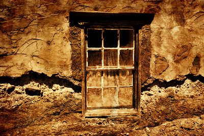 Ghost Town Window Calico CA