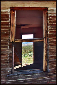 Rhyolite Nevada Window