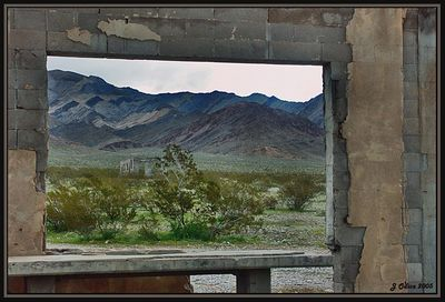 Desert Window Nevada