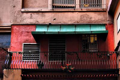 Alleyway Balcony