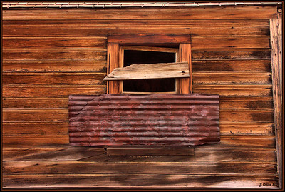 Boarded Up! Bodie Ghost town CA