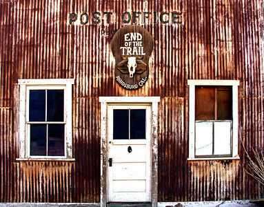 Post Office Closed Randsberg CA