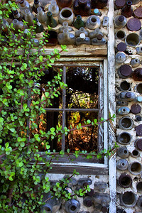 Bottle Village Window Grandma Prisbreys