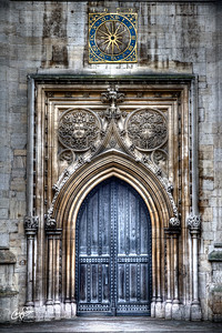 Great St Mary's Church Door