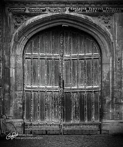 Trinity College Door