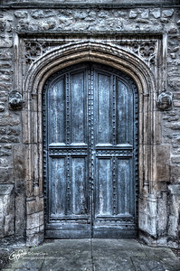 Random Cambridge Door