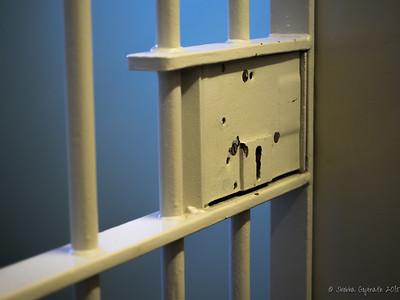 Nelson Mandela's cell door, Robben Island