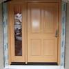 "New 42"" wide fir entry door"